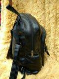 Черный ранец в школу и в институт. Фото 3.