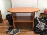 Журнальный столик с полкой, орех. Фото 1.