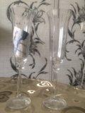 Бокалы для шампанского bohemia / angela. Фото 2.