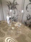 Бокалы для шампанского bohemia / angela. Фото 1.