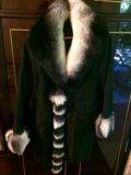 Пальто с меховой подкладкой. Фото 1.