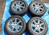 Комплект колёс yokohama ac02 c. drive 2 205/65 r15. Фото 3.