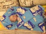 Одеяло для новорождённого. Фото 2.