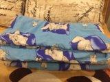 Одеяло для новорождённого. Фото 1.