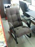 Кресло качалка ткань кор. Фото 1.
