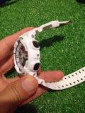 Касио ga 110 (белые-черные с золотом)наручные часы. Фото 2.
