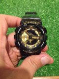 Касио ga 110 (белые-черные с золотом)наручные часы. Фото 3.