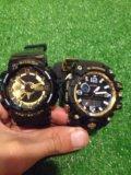 Касио ga 110 (белые-черные с золотом)наручные часы. Фото 4.
