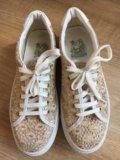 Кеды ботинки женские новые 37 р. Фото 1.