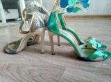 Туфли versace кожа. Фото 4.