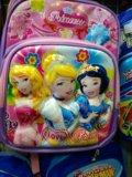 Рюкзак белоснежка золушка и златовласка для школы. Фото 1.