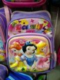 Рюкзак белоснежка золушка и златовласка для школы. Фото 2.