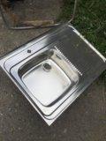 Раковина из нержавеющей стали. Фото 1.