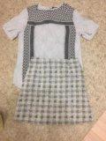 Комплект юбка и блузка фирмы h&m. Фото 1.