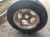 Пара дисков с резиной. Фото 3.