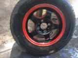 Пара дисков с резиной. Фото 1.