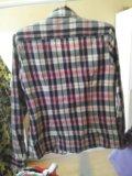 Рубашка клетчатая женская. Фото 2.