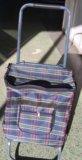 Тележка с сумкой. Фото 2.