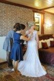 Счастливое свадебное платье+рушник в подарок!. Фото 3.