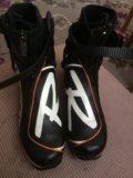 Лыжные ботинки 40р. Фото 3.