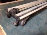 Бесшумные дуги на рейлинги thule. Фото 2.