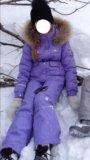 Костюм зимний для девочки. Фото 1.