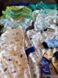 Одежда пакетом на мальчика 74-80. Фото 4.