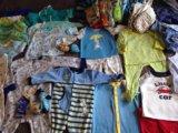 Одежда пакетом на мальчика 74-80. Фото 2.