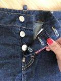 Джинсовая юбка dsquared, оригинал. Фото 3.