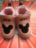 Ботинки детские утеплённые. Фото 2.