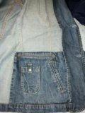 Оригинал джинсовый пиджак celio size xl. Фото 4.