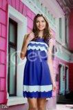 Летнее шифоновое платье. Фото 1.