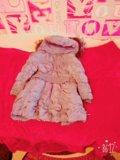 Куртка зимняя+варежки. Фото 2.