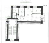 Квартира, 4 комнаты, 60.5 м². Фото 9.