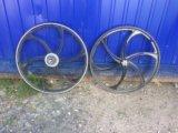 Литые диски на велосипед. Фото 1.