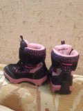 Ботинки детские для девочек зимние. Фото 2.