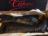 Сапоги из натуральной кожи на меху зимние caprise. Фото 2.