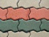 Укладка брусчатки. Фото 1.