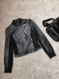 Кожаные куртки versace versus atos lombardini. Фото 1.