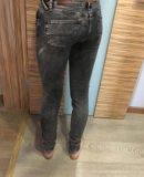 Джинсы серые tommy hilfiger. Фото 2.