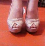 Туфли с открытыми носом. Фото 1.