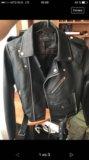 Кожаная куртка м. Фото 1.