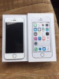 Apple iphone 5s 16 gb white. Фото 1.