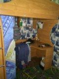 Шкаф + компьютерный столик + кровать. Фото 1.