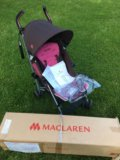 Коляска трость maclaren quest прогулка. Фото 1.