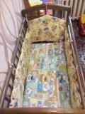 Кроватка с маятником. Фото 3.