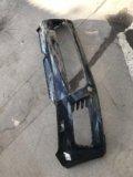 Бампер передний touareg. Фото 2.
