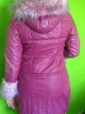 Зимнее пальто для девочки 11-12 лет. р.160. Фото 2.