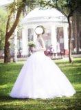 Платье свадебное. Фото 4.