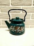Чайник 2,0 литра. эмалированный. Фото 1.